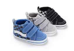 2019 Toddler Canvas Sneakers Baby Boy Girl Soft Sole Crib Ca
