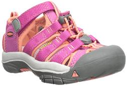 KEEN Toddler  Newport H2 Very Berry/Fusion Coral Sandal - 6