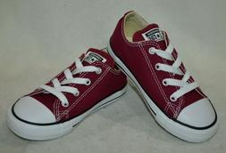 Converse® All Star CT OX Maroon Burgundy Toddler Boy/Girl's