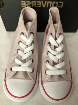 Converse AS CT HI Tops Toddler Girl Shoes Rose/Red/White US