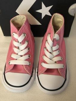 Converse AS CT HI Tops Toddler Infant Girls Shoes Pink US Si