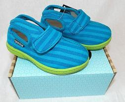Bogs Baby Boys/Girl Toddler Size 4 Mid Canvas Turquoise Stri