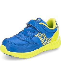 Saucony Baby Jazz Lite Sneaker, Blue Monster, 9 XW US Toddle
