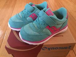 Saucony BABY JAZZ LITE Toddler Girls Sneakers Size 5W ~ Turq