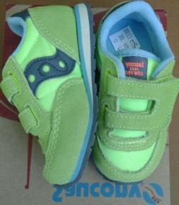 "❤SAUCONY BABY JAZZ TODDLER SHOES SIZE 5M ""CITRON"" BRAND NE"