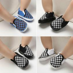 Baby Soft Sole Crib Shoes Infant Boy Girl Toddler Sneaker An