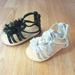 Baby Toddler Girls flat Straps Sandals Shoes Size 2,5 New