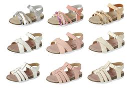 Baby Toddler Girls Sandals 3 Styles Open Toe Summer Beach Sh
