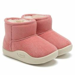 CIOR Baby Toddler Snow Boots Winter Warm Infant Bootie Anti-