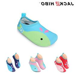 Baby Toddler Whale Barefoot Sandals Shoes Water Skin Infant