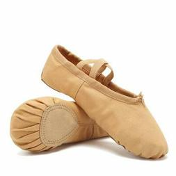 CIOR Ballet Slippers Canvas Dance Shoes Gymnastics Yoga Flat