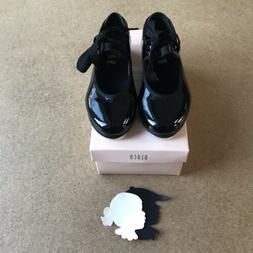 Bloch Black Tap Shoes New Snap Closure Ribbon 9.5 Toddler Gi