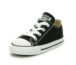 CONVERSE Kids All Star Chuck Taylor Black Athletic Shoes Can