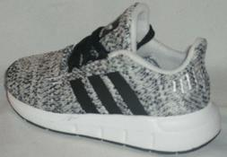 BOY'S ADIDAS ORIGINALS SWIFT RUN I GREY/BLACK/WHITE SHOES TO