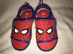 Boy's Toddler SPIDERMAN Blue+Red Athletic Sandals Water Shoe