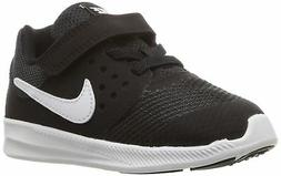 Nike Boys' Downshifter 7  Running Shoe, Black/White-Anthraci
