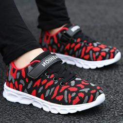 Boys Running Shoes Camouflage Casual Walking Sneakers Kids A