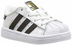 adidas Originals Boys Superstar I Running Shoe- Pick SZ/Colo