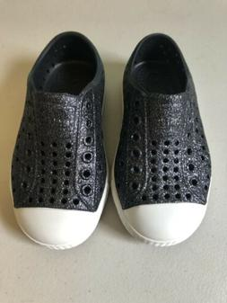 Brand New Native Jefferson Shoes  Bling Girls Size C7 Toddle