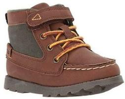 Carter's Bradford Kids Boots Brown Hiking Casual Dress Shoes