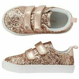 Carter's Toddler Girl's Andee2 Rose Gold Sneakers Shoes Size