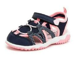 Carter's Zyntec Kids Sandals Blue+Pink Casual Athletic Water