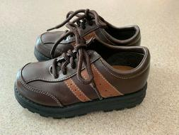 Carter's Toddler Boys Brown Oxford Dress Shoes Size 10M ~