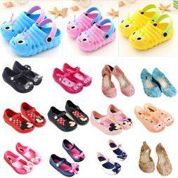 Children Kid Cartoon Mickey Minnie Mouse Cat Sandals Jelly S