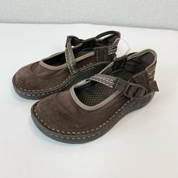 Chaco Chocolate Brown Mary Jane Flats Shoes Toddler Girl siz