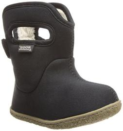 Bogs Classic Solid Boot - Infant and Toddlers' Black, 5.0