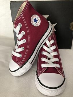 Converse CT AS HI Top Toddler Shoes US Size 6, 7, 8, Maroon