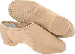 Bloch Dance Neo Flex Slip-On Toddler/Little Kid,Tan,13 X US