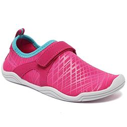 Fantiny Boys & Girls Water Shoes Lightweight Comfort Sole Ea