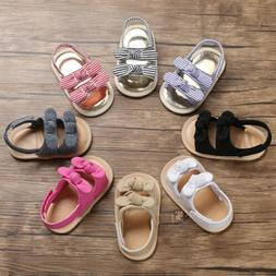 Fashion Infant Baby Girl Soft Sole Sandals Toddler Summer Sh