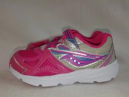 Saucony G Baby Ride Shoes Kids Girls Toddler Size 7.5 Extra