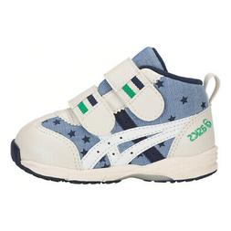 Asics GD.Runner Baby CT-Mid 3  Toddlers Casual Shoes Blue/Wh