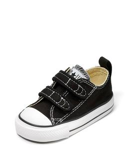 Girl's/Boy's Toddler CONVERSE ALL STAR 7V603 Black Adjustabl