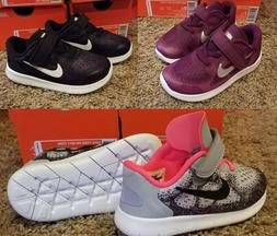 Girl's Nike FREE RN 2017  Toddler Infant Running Shoe  90426
