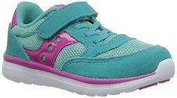 Saucony Girls' Baby Jazz Lite Sneaker Blue Toddler  7 W US T