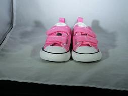 Converse Girls Chuck Taylor All Star SZ 7 Toddler Shoes Pink