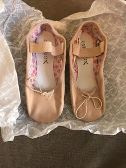 Capezio Girls Daisy Full Sole 205T Ballet Pink Shoes Toddler