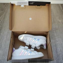 Adidas Grand Court Toddler Shoes Cloud White / Dash Grey I S