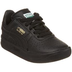 PUMA GV Special Leather Sneaker  , Black/Black/Metallic Gold