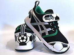 Infant Toddler Asics School Yard TS Soccer Baby Shoes Black/