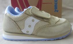 Saucony Jazz Sparkle Sneakers Toddler Girls Size 8 Gold New