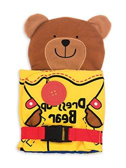 Melissa & Doug K's Kids Soft Activity Book - Dress Up Bear 9