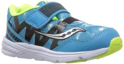 Saucony Kids' Baby Ride Pro Running-Shoes,Ocean Wave Blue,5