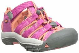 Kids Keen Boys Newport H2 Low Top   Water Shoes, Pink, Size