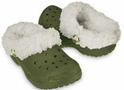 Crocs Kids Mammoth Army/Oatmeal Infant & Toddler Clogs