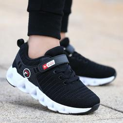 Kids Tennis Shoes Running Sports Shoes Breathable Athletic S